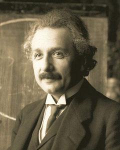 Einstein und Friedrich Howanietz streiten wegen dem Lernen